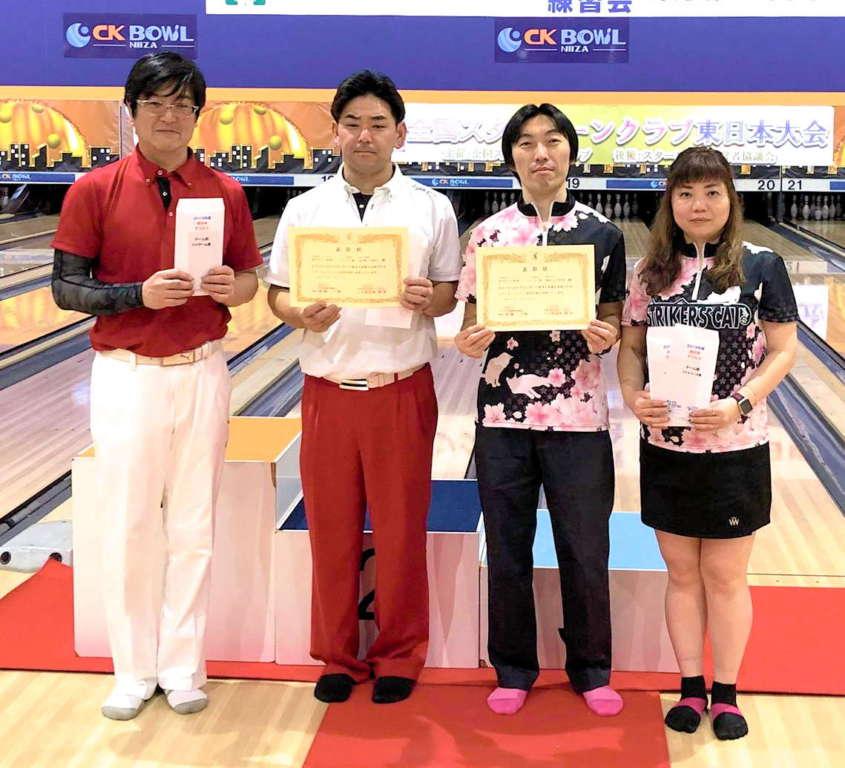 東日本ダブルス2019チーム表彰